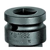 "Adaptador de Impacto 48mm 1/2""x3/4"" KB1932 GEDORE"