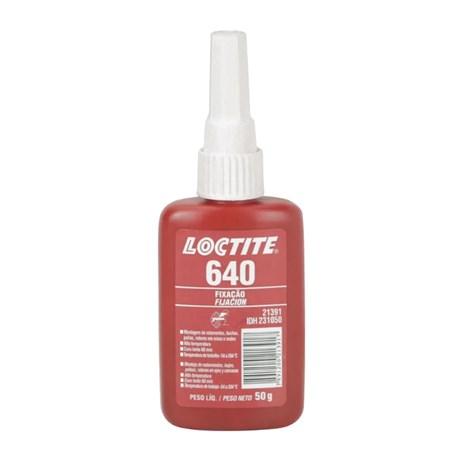 Adesivo Anaeróbico de Fixação de Rolamentos Alto Torque 50g 640 LOCTITE