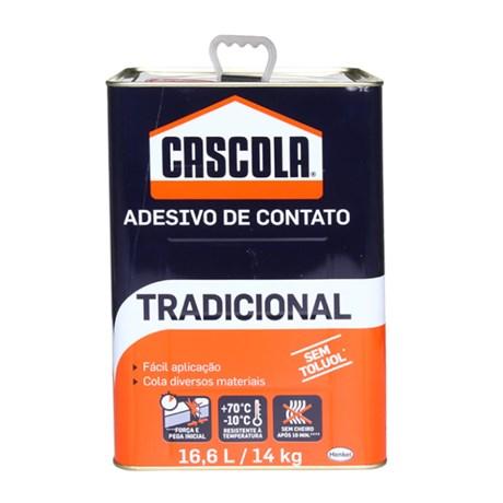 Adesivo de Contato sem Toluol 14Kg Tradicional CASCOLA