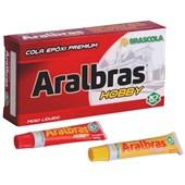 Adesivo Epóxi Premium Aralbras Hobby 3010048 BRASCOLA