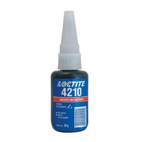 Adesivo Instantâneo Preto Monocomponente 20g 4210 LOCTITE