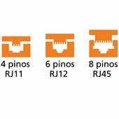 Alicate Crimpador RJ11 /RJ12 /RJ45 44057/100 TRAMONTINA PRO