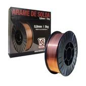 Arame Mig Sólido com Gás 0,8mm 5kg 7795 V8