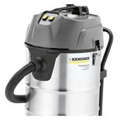 Aspirador de Pó e Líquido em Inox 90 Litros 2200W 220V Monofásico NT 90/2 Me Classic KARCHER