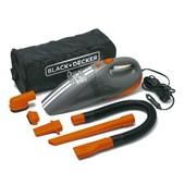 Aspirador de Pó Portátil para Carros 12v Ação Ciclônica Av1500la-Br Black + Decker