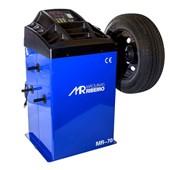Balanceadora de Rodas Motorizada Azul MR70 MÁQUINAS RIBEIRO