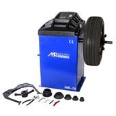 Balanceadora de Rodas Motorizada com Proteção MR70B Azul RIBEIRO