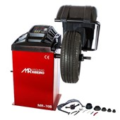 Balanceadora de Rodas Motorizada com Proteção MR70B Vermelho RIBEIRO