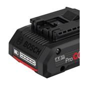 Bateria de Lítio 18V 4.0 Ah PROCORE 1600A016GB BOSCH