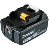 Bateria de Lítio 18V 5.0 Ah com Indicador de Carga BL1850B MAKITA