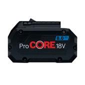 Bateria de Lítio 18V 8.0 Ah com Indicador de Carga PROCORE 1600A016GK BOSCH