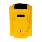 Bateria de Lítio 20V 4.0 Ah com Indicador de Carga DCB204-B3 DEWALT