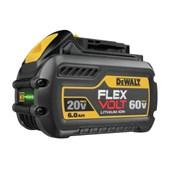 Bateria de Lítio 20V/60V MAX com Indicador de Carga FLEXVOLT 6.0 Ah DCB606-B3 DEWALT