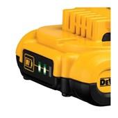 Bateria de Lítio 20V MAX 2.0 Ah com Indicador de Carga DCB203-B3 DEWALT