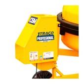 Betoneira 400 Litros Trifásica com Painel 220V 1 TRAÇO SUPER 400 CSM