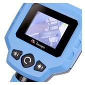 "Boroscópio Digital LCD 2.4"" Câmera 9mm Interface RCA MBR-240 MINIPA"