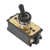 Botão Chave Liga/Desliga com Alavanca Plástica Preto 2P 6A 250V CS-301C AFB2FS/SS MARGIRIUS
