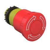 Botão de Emergência Rotativo Vermelho 22,5mm CSW-BESG WH 12882447 WEG