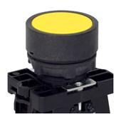Botão de Impulsão Plástico Amarelo 22,5mm SLPRN3 STECK