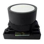Botão de Impulsão Plástico Branco 22,5mm SLPRN5 STECK