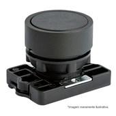 Botão de Impulsão Plástico Preto 22,5mm SLPRN8 STECK