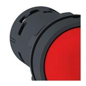 Botão de Impulsão Plástico Vermelho 22,5mm 1NA XB7NA42 SCHNEIDER