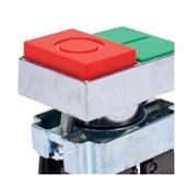 Botão Liga/Desliga Duplo Metálico Faceado 22,5mm SLMDNR STECK