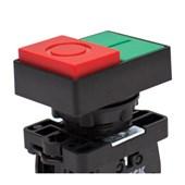Botão Liga/Desliga Duplo Plástico Saliente 22,5mm SLPDN STECK