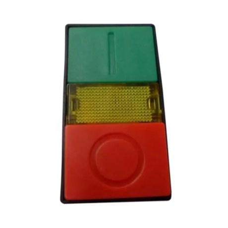 Botão Liga/Desliga Duplo Plástico Saliente Luminoso 22,5mm SLPDL STECK