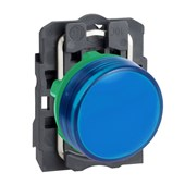 Botão Sinaleiro LED Azul 220V XB5AVM6 SCHNEIDER