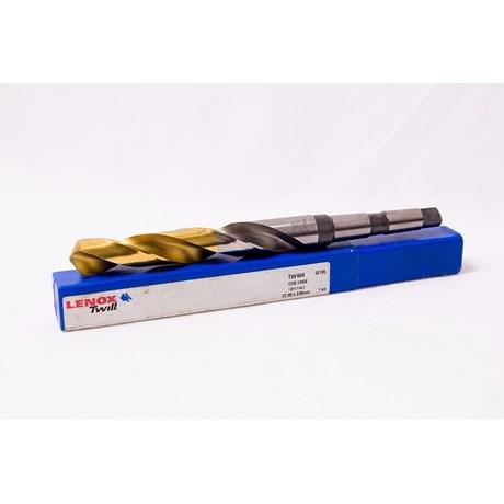 Broca Aço Rápido Haste Cônica 19,50mm Din 345 TIN TW404 LENOX TWILL