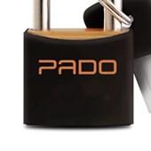 Cadeado Colorido de Latão 20mm com Chave SM LT-20 PADO