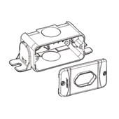Caixa de PVC para Tomada de Perfilado 38x38mm 914440 CEMAR