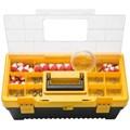 """Caixa Plástica 20"""" para Pesca com Tampa Organizadora e 100 peças 43802500 TRAMONTINA"""