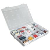 Caixa Plástica Organizadora com 25 Compartimentos Fixos UT-120 SÿO BERNARDO