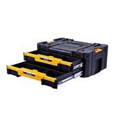 Caixa Plástica para Ferramentas com 2 Gavetas TSTAK DWST17804 DEWALT