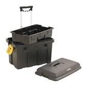 Caixa Plástica para Ferramentas com Rodas e Bandeja Removível CRV 0200 VONDER