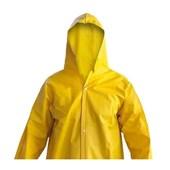 Capa de Chuva PVC Forrada Amarela Tam G 700.30347 EQPRO