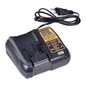 Carregador de Baterias 12V a 20V 1.25 Ah Li-Ion 110/220V DCB107-BR DEWALT
