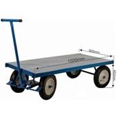Carro Plataforma de Aço com Capacidade de 800 Kg PLA-800 FERCAR
