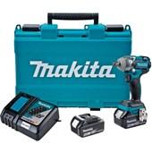 """Chave de Impacto 1/2"""" 2 Baterias 18V com Maleta Bivolt DTW285RME MAKITA"""