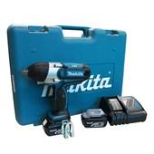 """Chave de Impacto 1/2"""" 2 Baterias 18V com Maleta Bivolt DTW450RFE MAKITA"""