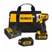 """Chave de Impacto 1/2"""" 2 Baterias 20V com Maleta 220V DCF880L2-B2 DEWALT"""