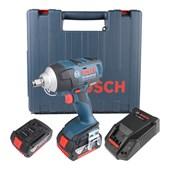 """Chave de Impacto 1/2"""" à Bateria 18V 220V GDS 18V-EC 250 BOSCH"""
