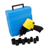 """Chave de Impacto Pneumática 1/2"""" + Kit de Acessórios AT2810AK PUMA"""