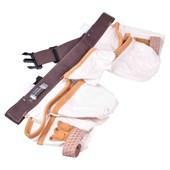 Cinturao de Ferramentas com 10 Bolsos em Lona IW14086