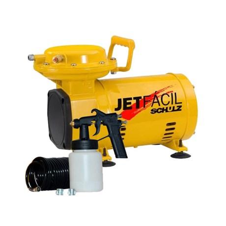Compressor Ar Direto 2,3 Pés 110/220V Kit Jet Fácil Schulz