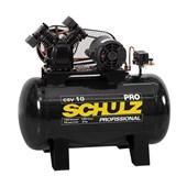 Compressor de Ar 10 Pés 100 Litros 140Lbs 220V Monofásico CSV10/100 PRO SCHULZ