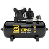 Compressor de Ar 10 pés 100lts Se 140lbs 110/220V ONP 10/100 Monofásico V-2HP PRESSURE