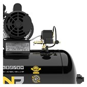 Compressor de Ar 10 pés 100lts Se 140lbs Monofásico 110/220V Onp 10/100 V-2hp Pressure